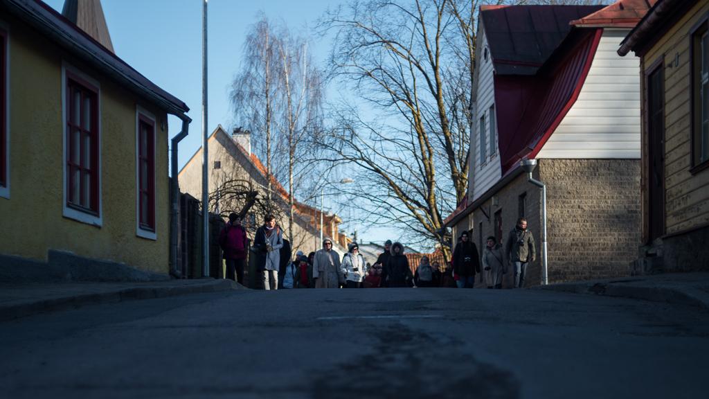 Tartu tänavad fotograaf Sulev Lange